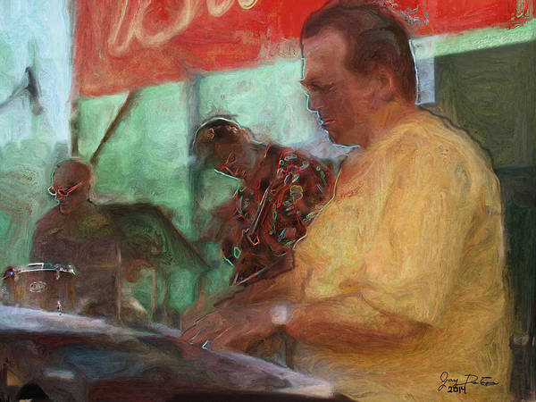 Photograph - The Jazz Trio by Gary De Capua