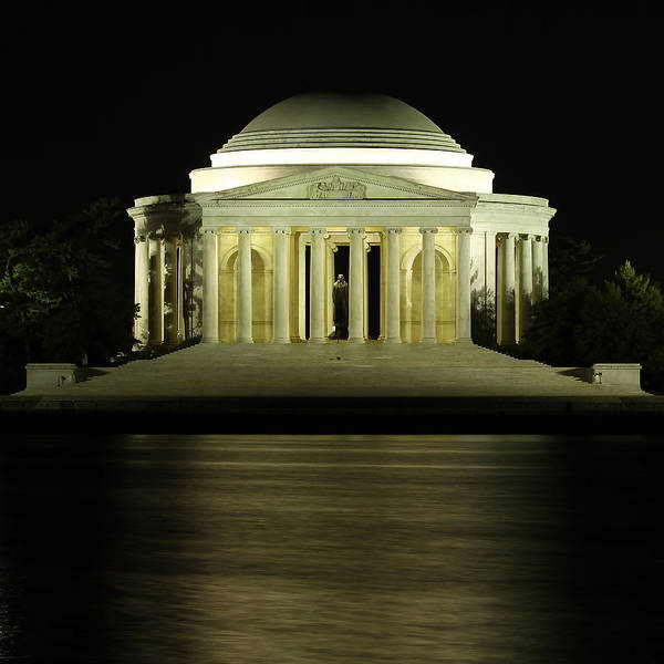 Photograph - The Jefferson Memorial by Kim Hojnacki