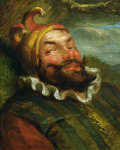 Clown Painting - The Jester by George Henry Hall