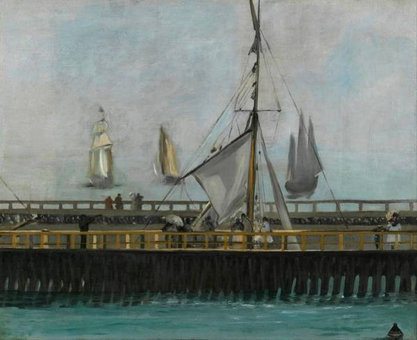 Wall Art - Painting - The Jetty Of Boulogne-sur-mer by Edouard Manet