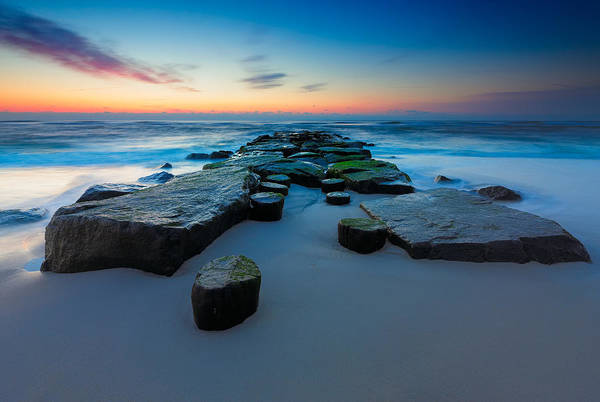 Photograph - The Jetty by Rick Berk