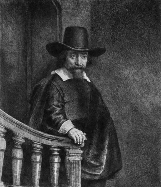 Drawing - The Jew With The Banister by Celestial Images