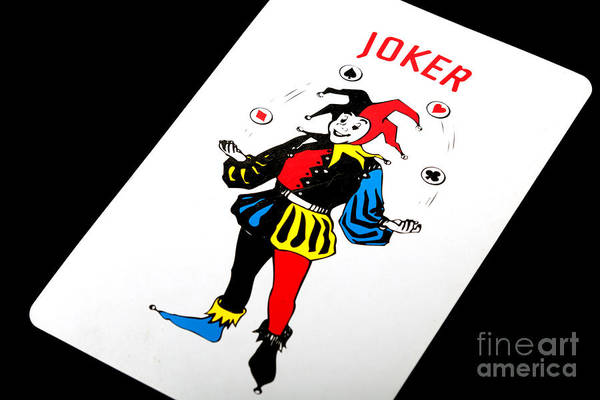 Photograph - The Joker by Gunter Nezhoda