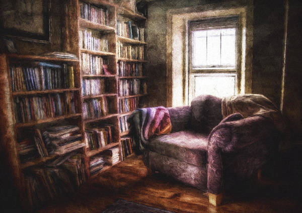Book Shelf Photograph - The Joshua Wild Room by Scott Norris