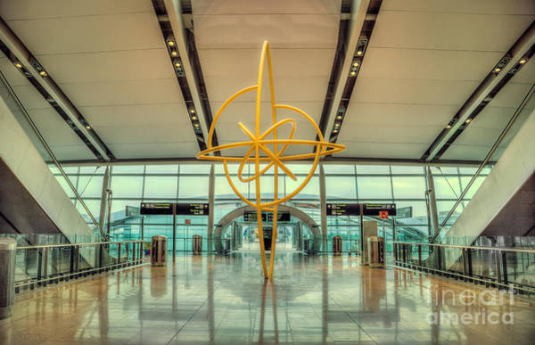 Airport Wall Art - Photograph - The Journey Home by Evelina Kremsdorf