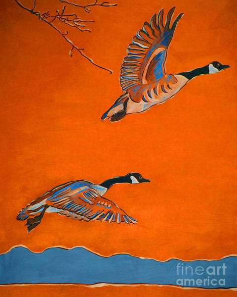 Mate For Life Painting - The Journey by Nancy Swearingen