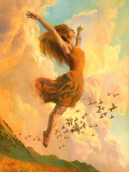 Dance Painting - The Joy Of Life by Francois Girard