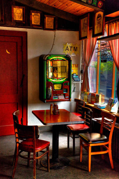 Photograph - The Jukebox At The Tap Room by David Patterson