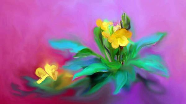 The Kanakaambaram Flower Art Print