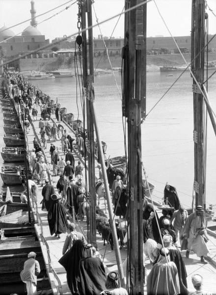 Wall Art - Photograph - The Katah Bridge by Underwood Archives