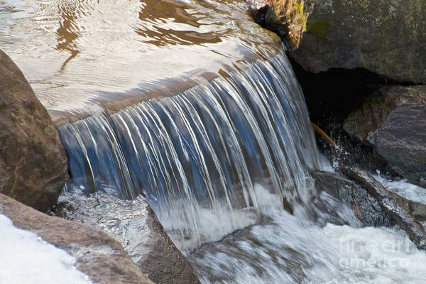 Wall Art - Photograph - The Kent Park Waterfall by William Norton