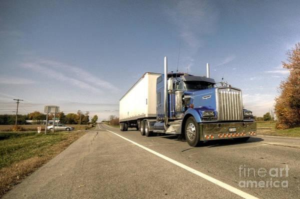 Kenworth Photograph - The Kenworth Truck  by Rob Hawkins