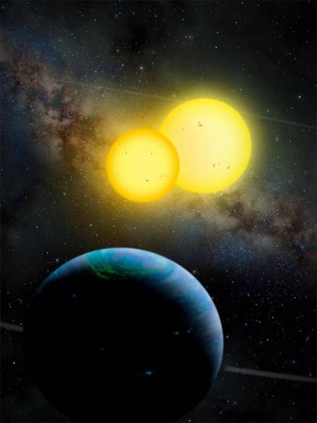 Photograph - The Kepler 35 System by Movie Poster Prints