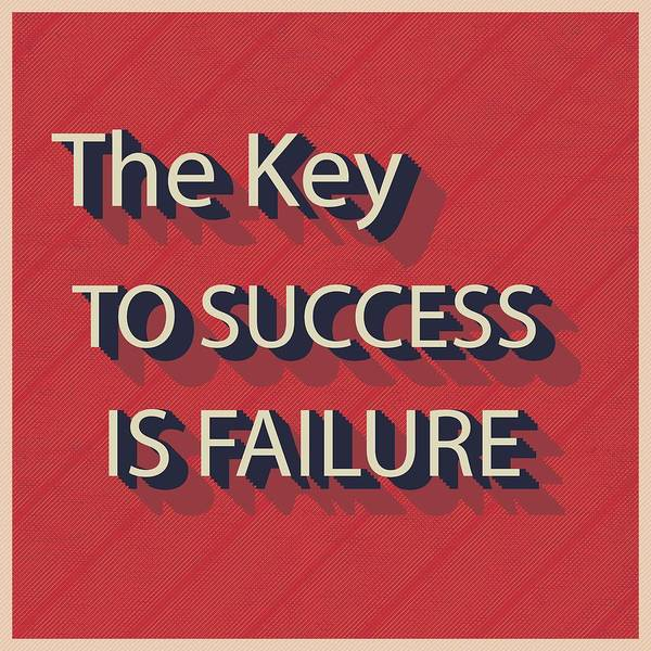 Painting - The Key To Success Is Failure by Florian Rodarte