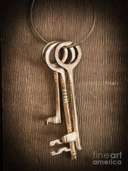 Photograph - The Keys by Edward Fielding