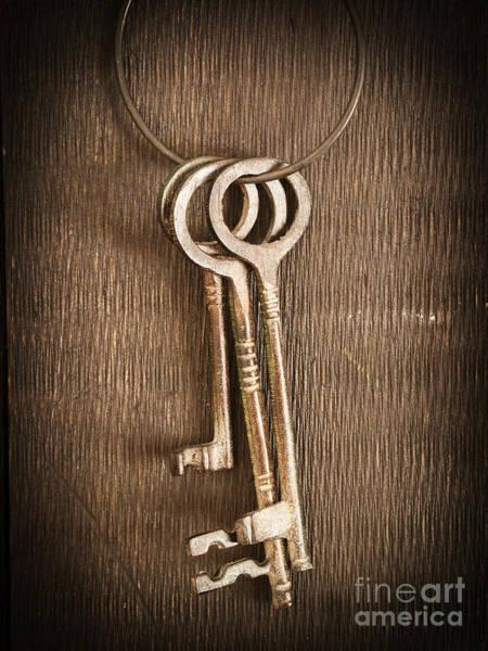 Skeleton Key Photograph - The Keys by Edward Fielding