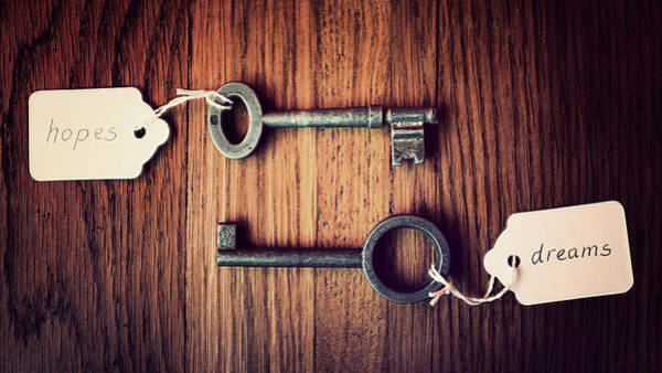 Photograph - The Keys To Your Hopes And Dreams by Image By Catherine Macbride