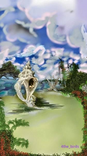 Mangroves Digital Art - The King Conch  by Pat Carafa