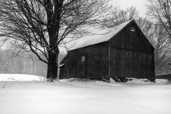Wall Art - Photograph - The Kinney Barn By Thomas Schoeller by T-S Fine Art Landscape Photography