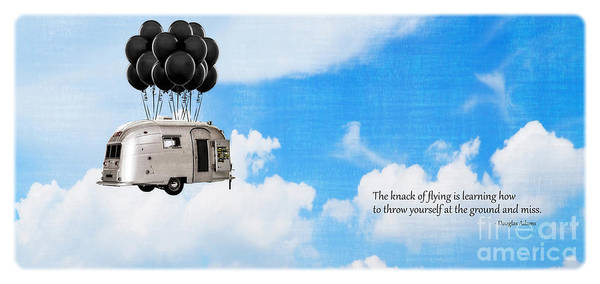 Camper Wall Art - Photograph - The Knack Of Flying by Edward Fielding