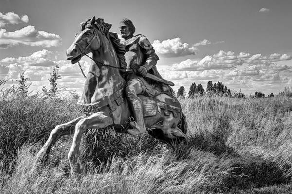 Steed Photograph - The Knight Goes Forth by Daniel Hagerman