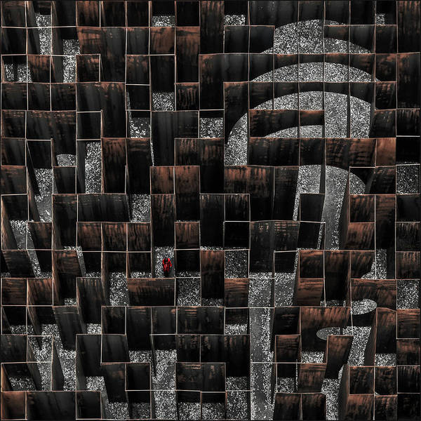 Traps Photograph - The Labyrinth by Gilbert Claes