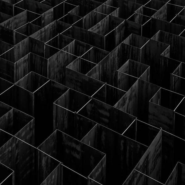 Modern Architecture Photograph - The Labyrinth II by Gilbert Claes