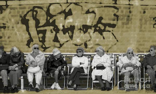Photograph - The Ladies Club - Brighton Beach by Jeff Breiman