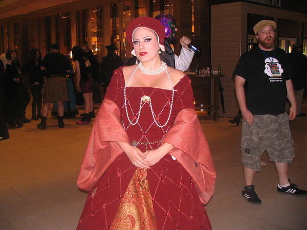 Cosplay Photograph - The Lady In Red by Jim Williams