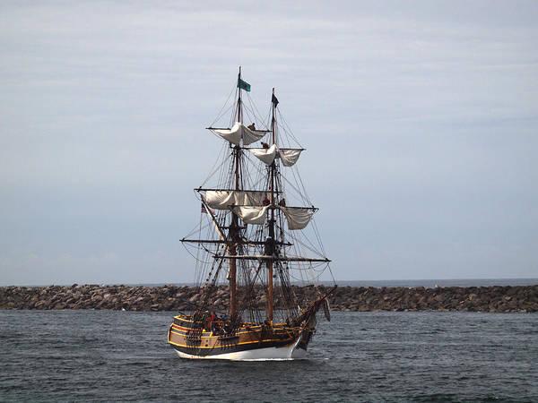 Photograph - The Lady Washington At Newport by HW Kateley