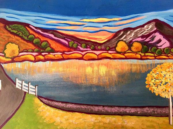 Painting - The Lake District by Nikki Dalton