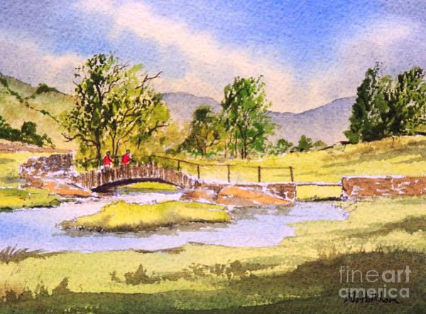 The Lake District - Slater Bridge Art Print