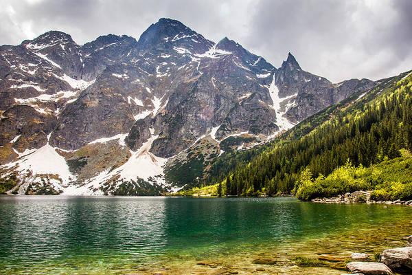 High Tatras Wall Art - Photograph - The Lake by Pati Photography