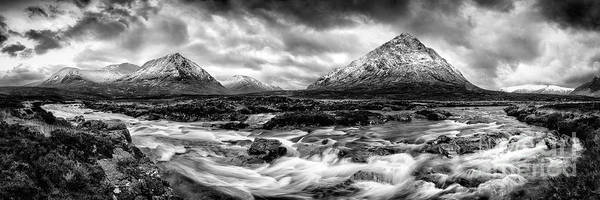 Glencoe Photograph - The Land Of Giants by John Farnan