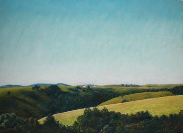 Pastel - The Land by Serena Dawson