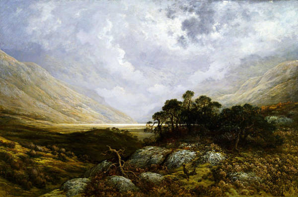 Painting - The Landscape by Celestial Images