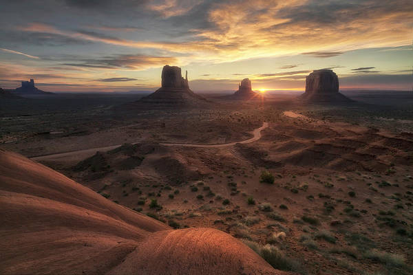 Monument Valley Photograph - The Landscape Of My Dreams by Fiorenzo Carozzi