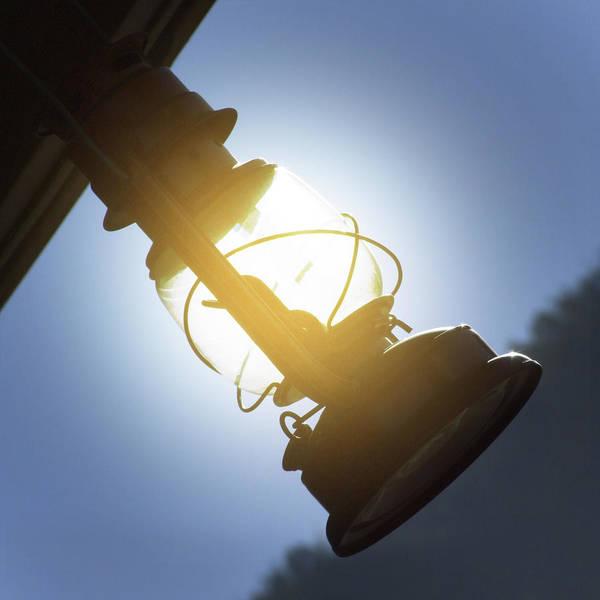 Oil Lamp Photograph - The Lantern by Mike McGlothlen