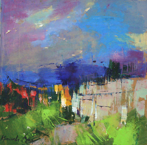 Wall Art - Painting - The Last Chord by Anastasija Kraineva
