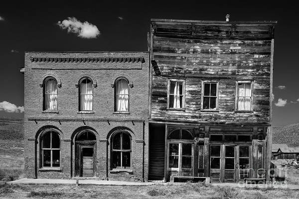Meijer Wall Art - Photograph - The Last Frontier - Bodie - California by Henk Meijer Photography