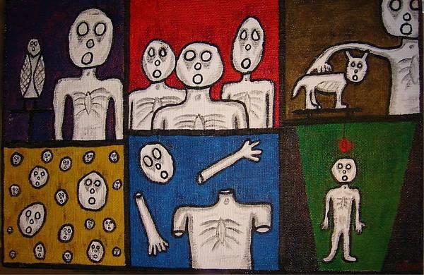 The Last Hollow Men Art Print