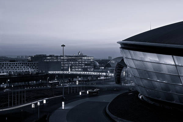 Photograph - The Last Of The Light At The Hydro by Stephen Taylor