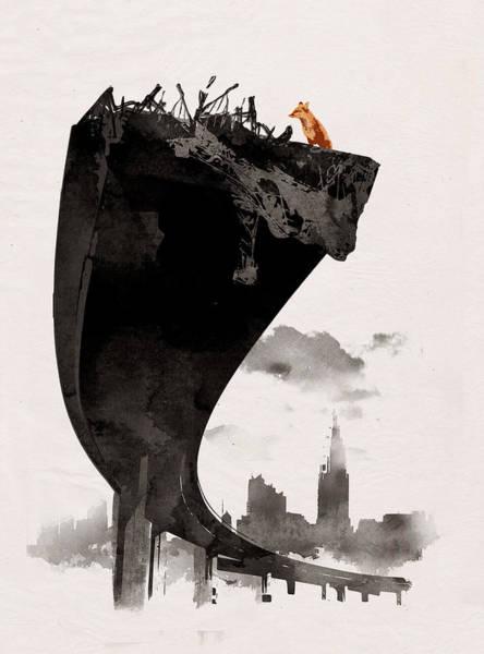Fox Mixed Media - The Last Of Us by Robert Farkas