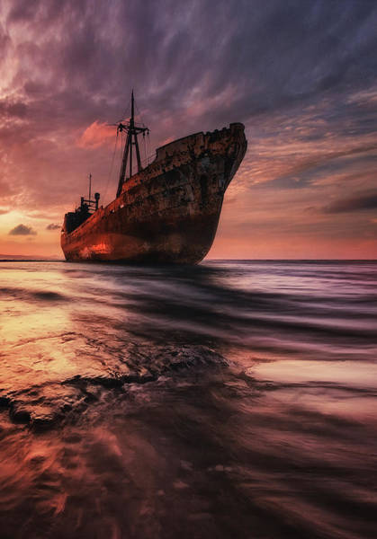Rust Photograph - The Last Port by