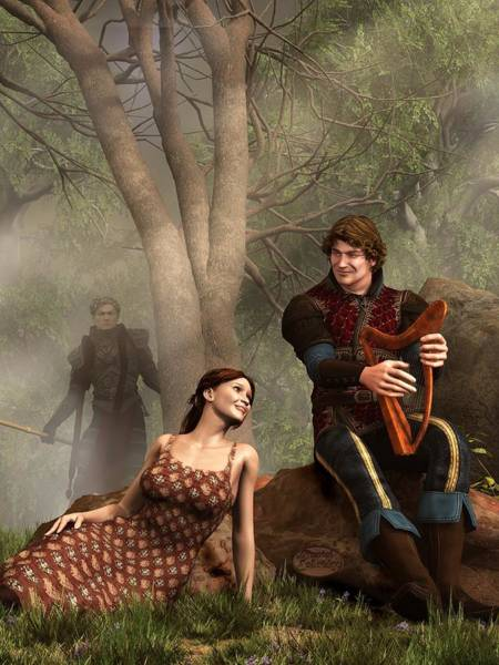 Digital Art - The Last Song Of Tristan by Daniel Eskridge