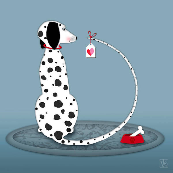 The Letter D For Dalmatian Art Print