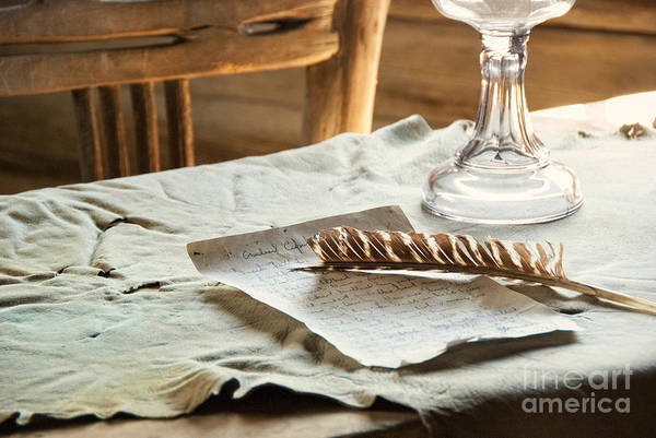 Relics Photograph - The Letter by Juli Scalzi
