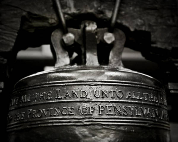 Lisa Russo Wall Art - Photograph - The Liberty Bell II by Lisa Russo