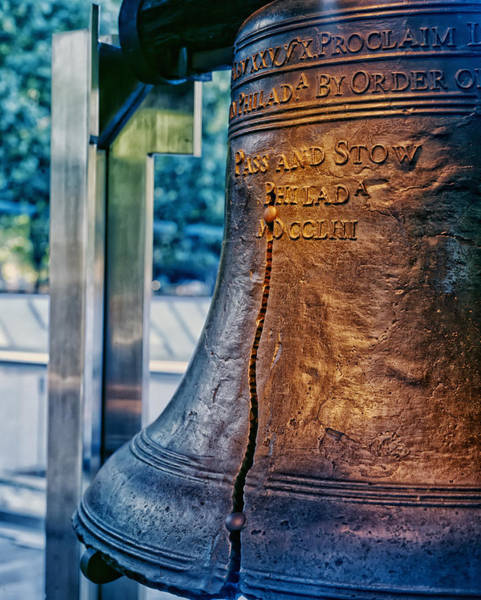 Bell Photograph - The Liberty Bell In Philadelphia by Mountain Dreams