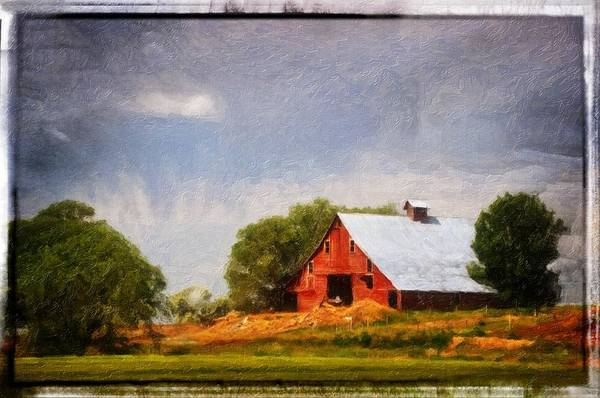 Bonneville County Photograph - The Life Of A Barn by Image Takers Photography LLC - Laura Morgan